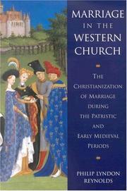 Marriage in the Western Church PDF