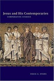 Jesus and his contemporaries by Craig A. Evans