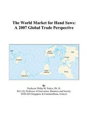 The World Market for Hand Saws PDF