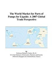 The World Market for Parts of Pumps for Liquids PDF