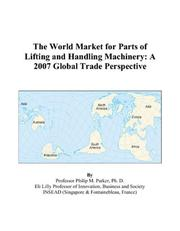 The World Market for Parts of Lifting and Handling Machinery PDF