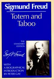 Totem und Tabu by Sigmund Freud