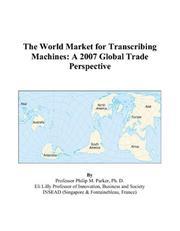 The World Market for Transcribing Machines PDF