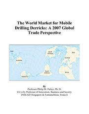 The World Market for Mobile Drilling Derricks PDF