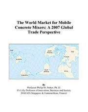 The World Market for Mobile Concrete Mixers PDF