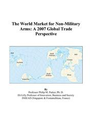 The World Market for Non-Military Arms PDF