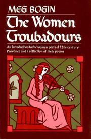 The women troubadours by Magda Bogin