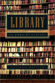 Cover of: Library by Matthew Battles