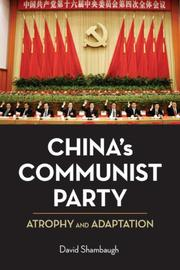 China's Communist Party PDF