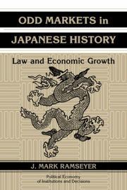 Odd Markets in Japanese History PDF