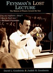 Feynman's lost lecture by David L. Goodstein