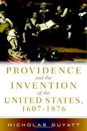 Providence and the Invention of the United States, 1607-1876 PDF