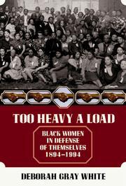 Too heavy a load PDF