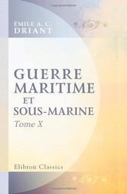 Guerre maritime et sous-marine PDF