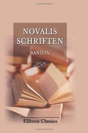 Novalis Schriften by Novalis