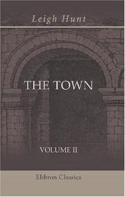 The town by Leigh Hunt