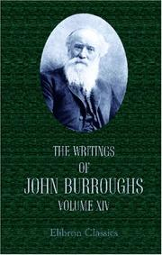 The Writings of John Burroughs PDF