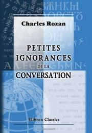 Petites ignorances de la conversation PDF
