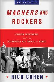 Cover of: Machers and Rockers by Rich Cohen