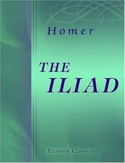 Cover of: The Iliad by Homer