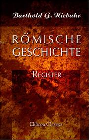 Rmische Geschichte by Niebuhr, Barthold Georg