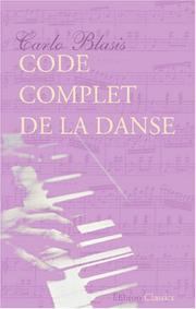 Code complet de la danse by Carlo Blasis