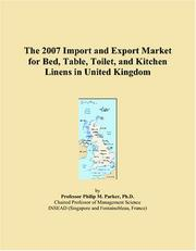 The 2007 Import and Export Market for Bed, Table, Toilet, and Kitchen Linens in United Kingdom PDF