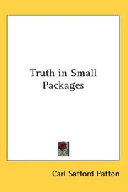Truth in Small Packages PDF