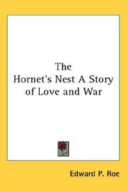 The Hornet's Nest A Story of Love and War PDF