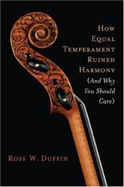 Equal Temperament History | RM.