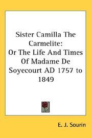 Sister Camilla The Carmelite PDF