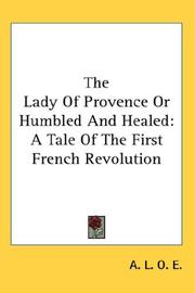The Lady of Provence or Humbled And Healed PDF