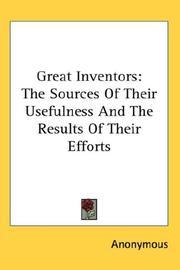 Great Inventors PDF