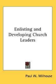 Enlisting and Developing Church Leaders PDF