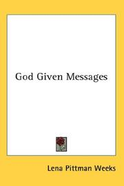 God Given Messages PDF