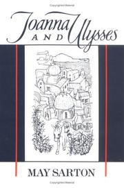 Joanna and Ulysses by May Sarton