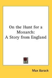 On the Hunt for a Monarch PDF
