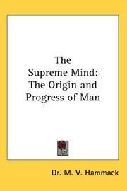 The Supreme Mind PDF