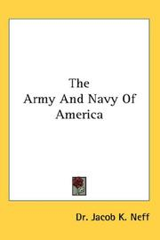 The Army And Navy Of America PDF