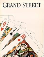 Cover of: Grand Street 37 (Grand Street) by Grand Street