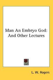 Man An Embryo God