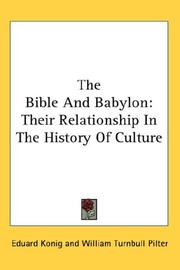 The Bible And Babylon PDF