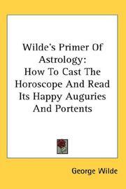 Wilde's Primer Of Astrology PDF