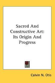 Sacred and constructive art PDF