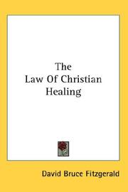 The Law of Christian Healing PDF