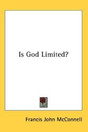 Is God Limited? PDF