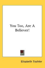 You Too, Are A Believer! PDF