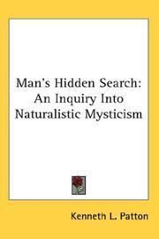 Man's Hidden Search PDF
