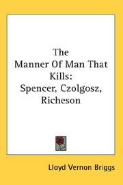 The Manner Of Man That Kills PDF