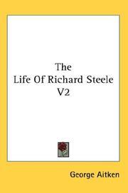 The Life Of Richard Steele V2 PDF